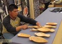 Rudy Neipan Artesanía en Chuchin, Lonquimay